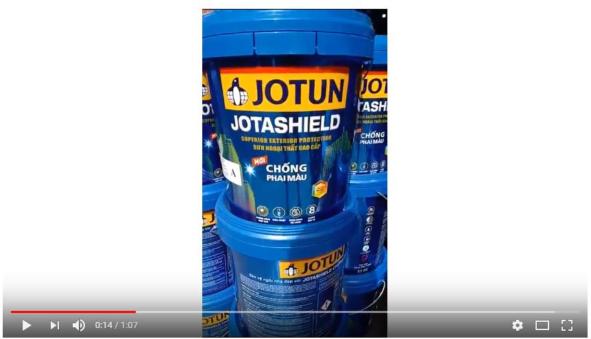 Giá Sơn Jotun Jotashield mới . Thùng 17 lít | sonbenthanh.com