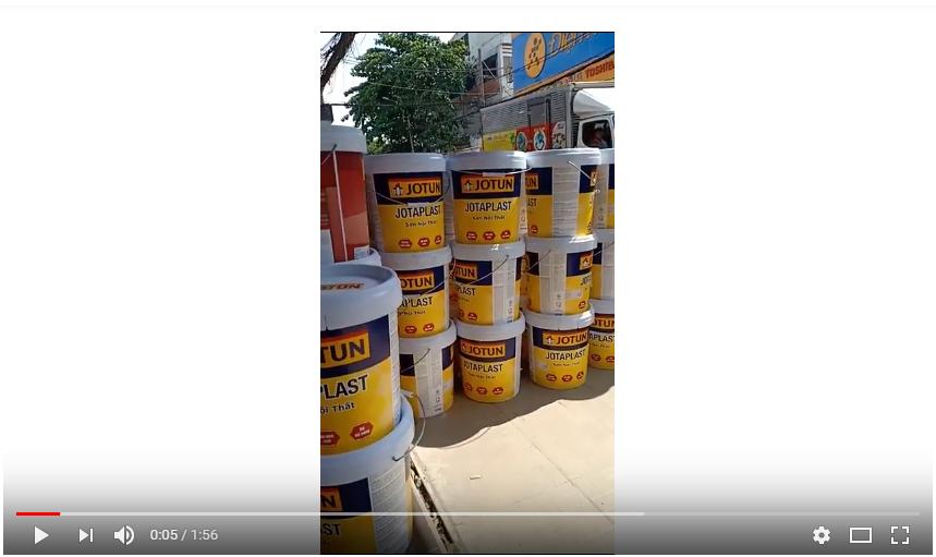 Giá sơn Jotun jotaplas | Nhập hàng sơn Jotun tại đại lý Sơn Bến Thành